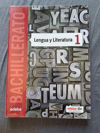 Libro de Luengua y Literatura 1 BACHILLERATO EDEBE