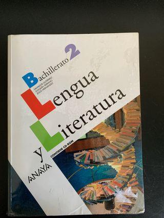 Libro de 2 Bach Lengua y Literatura