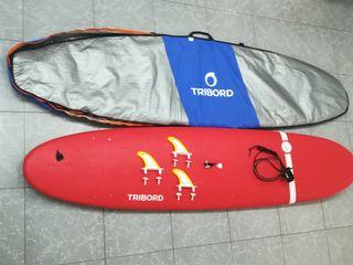 Tabla surf 8.6 adulto + Funda transporte