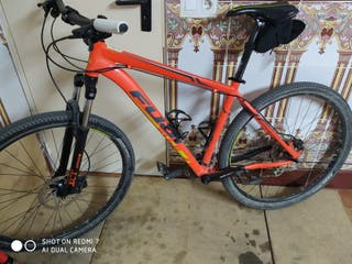 bicicleta de montaña fuji