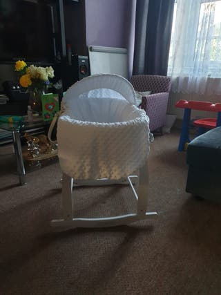 Moses basket for newborn baby