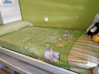 Edredón de cama nido