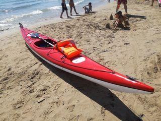 Kayak / Piragua de fibra de vidrio