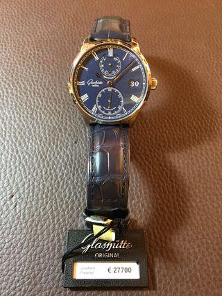 Senator chronometer oro blanco