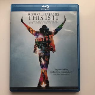 Michael Jackson This Is It blu-ray