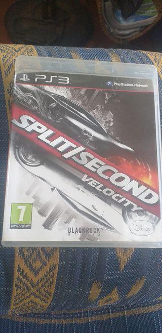 split second: velocity. ps3