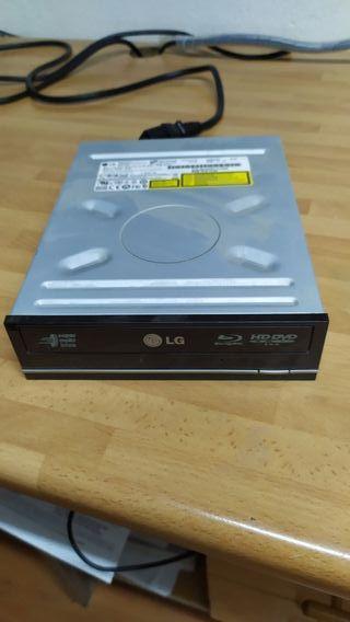 Lector sata DVD y grabador Blu-ray