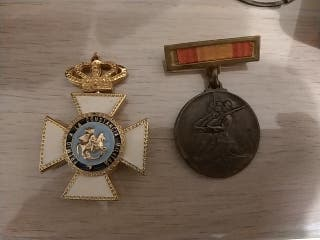 medallas guerra civil constancia militar