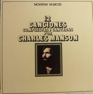 Disco vinilo Charles Manson