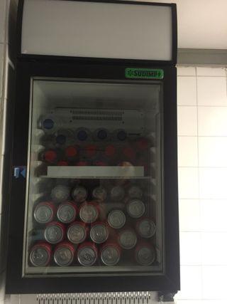 Expositor de bebidas frias