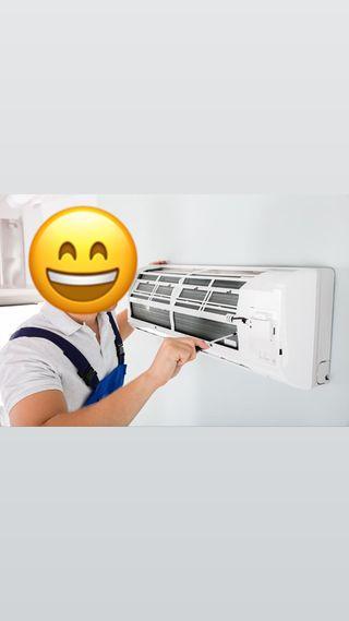 Instalación maquinas aire acondicionado