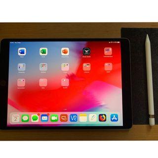 Ipad Pro 10.5 Cellular + Pencil + 2 Cases