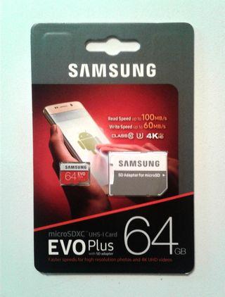 Samsung 64gb SD Card