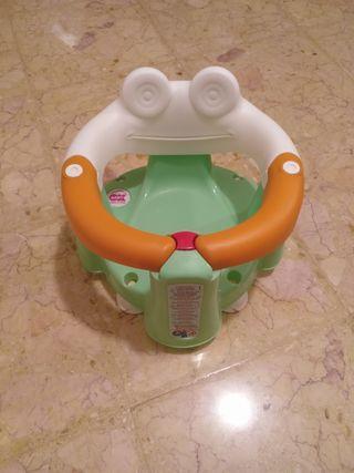 Aro asiento ducha bebé con ventosas OK BABY