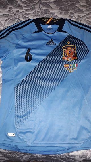 camiseta españa final eurocopa