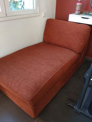 Sofá Chaiselongue Kivik de Ikea