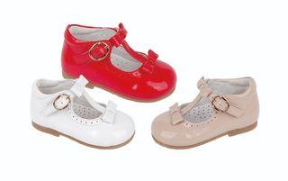zapatos de piel para niñas