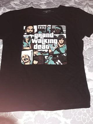 friking camiseta walking dead