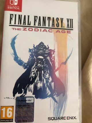 Final Fantasy XII Nintendo Switch