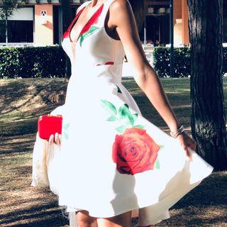Vestido Fiesta Sílvia Navarro colección 2019