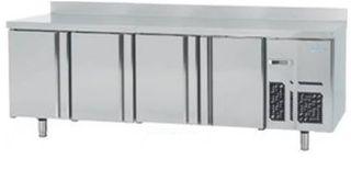 Mesa congelación 4 puertas inox. fondo 700