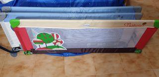 Barrera protectora anticaídas cama