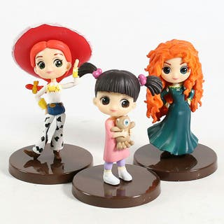 Disney figura tipo QPosket muñeca boo, jessy,