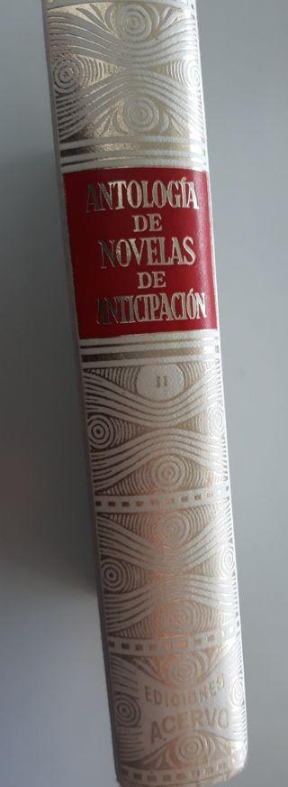 Antología de Novelas de Anticipación
