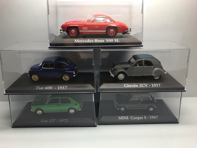 Pack 5 maquetas coches escala 1/43