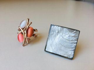 Conjunto 2 anillos