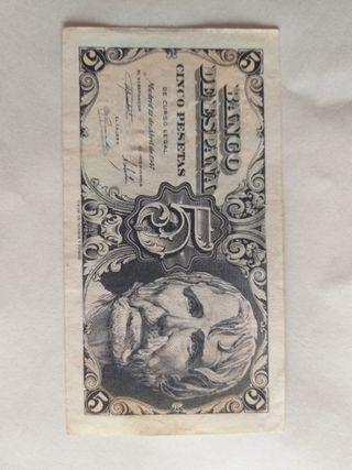 5 pesetas Seneca