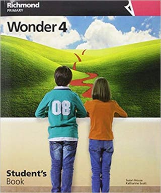 Libro Ingles 4º primaria Wonder 4 Richmond