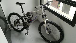 bici doble suspensión
