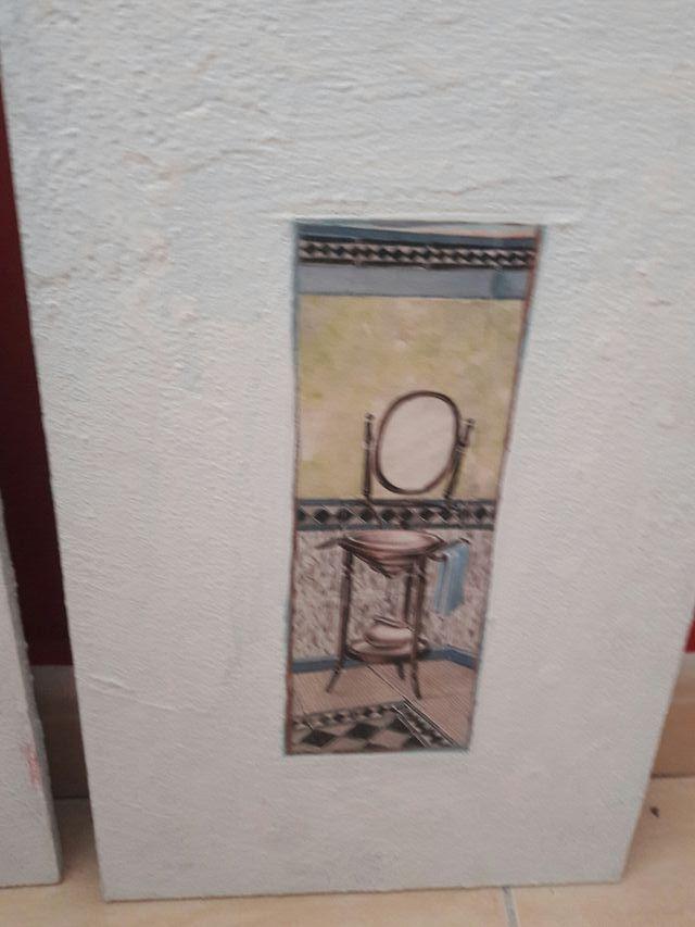 Cuadros para cuarto de baño. de segunda mano por 2,5 € en ...