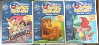 DVD's para niños/inglés