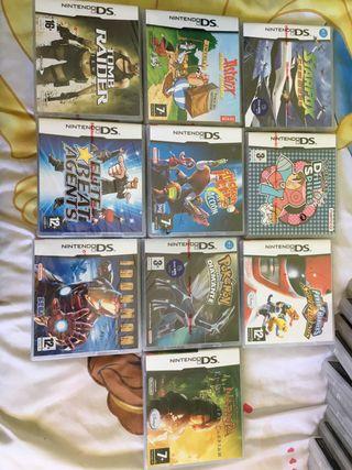 Lote de juegos Nintendo Ds