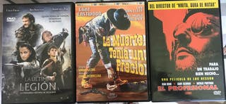 Películas/Documentales DVD