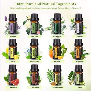 Set de aceites esenciales (12 x 10 ml) NUEVOS