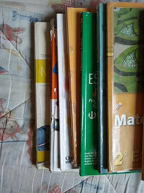 Libros de texto 2° ESO