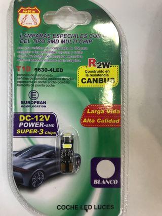 Luces LED para el coche 4 LED