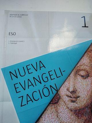 Libro religión. Nueva Evangelización