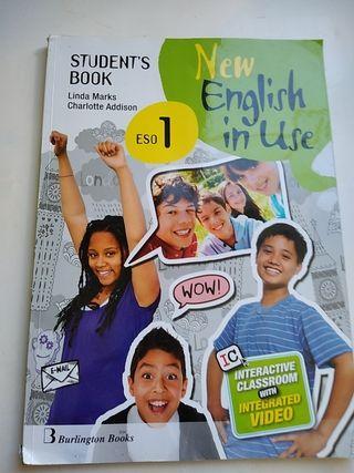Libro de texto. Inglés. New English In Use