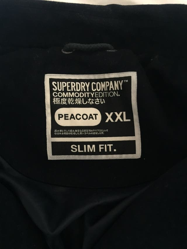 Superdry Peacoat Jacket