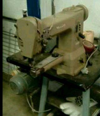 máquina coser triple arrastre brazo libre