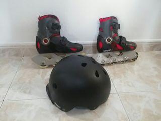 patines on line con dos días de uso