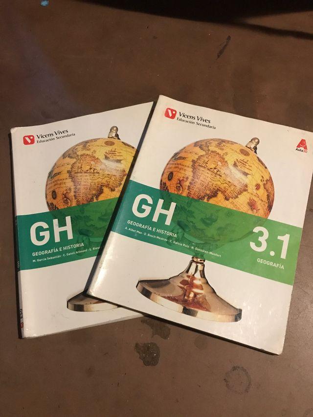 Libros de geografía e historia 3ESO de segunda mano por 15 ...