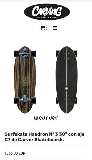 Surf skate Carver Haedron