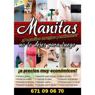 MANITAS - ARREGLOS A DOMICILIO