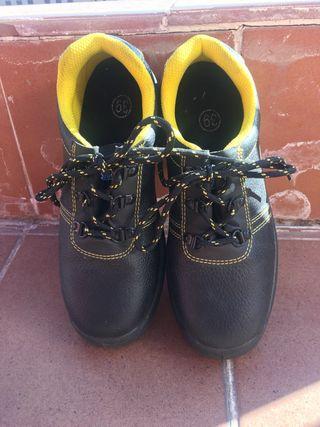 Zapatos de seguridad talla 39