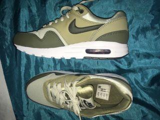 Khaki green Nike air max
